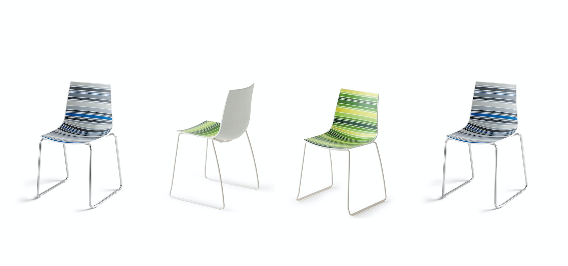Chairs Stosa - Model Colorfive St 10070